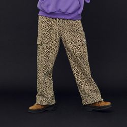NEONMOON 20FW Pocket Leopard Pants