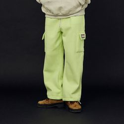 NEONMOON 20FW Cotton Pocket Green Pants