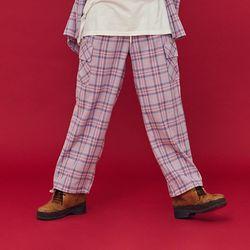 NEONDUST 20FW Purple Check Pants
