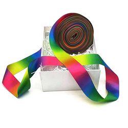 Rainbow 양면 포장리본끈 폭38mm 길이약45m CH1660689