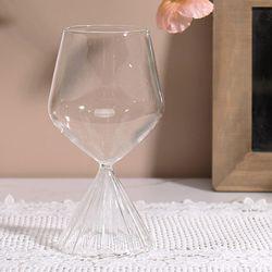 플리츠 와인잔 샴페인잔 (C type)