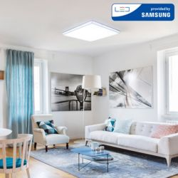 LED 아이솔 정사각 거실등 200W