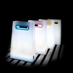 쇼핑백 LED 터치 무드등 조명