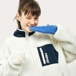 [예약판매 10/27 순차배송] REVERSIBLE FLEECE JUMPER NAVY