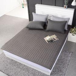 스무디 먼지없는이불 알러지케어 침대패드 카페트 (퀸 4컬러)