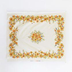 [Fabric] 썬플라워 가든 2마 전장 식탁보 컷트지