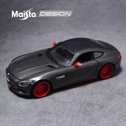 마이스토 1:24 디자인 메르세데스 벤츠 AMG GT 그레이