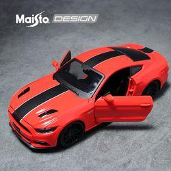 마이스토 1:24 디자인 2015 포드 머스탱 GT 레드