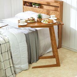 리치 원목 침대 사이드 베드테이블