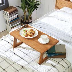 리치 원목 침대 좌식테이블