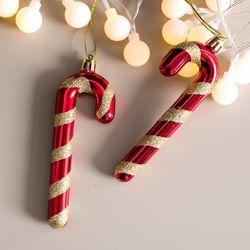 롤리지팡이 12cm(2개입) 크리스마스 장식 TROMCG