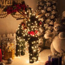 그린사슴 60cm 크리스마스 장식 인형 소품 TROMCG