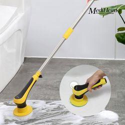 메디하임 무선 방수 욕실 6종 브러쉬 청소기 GLI-L650