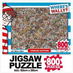 윌리를 찾아라 직소퍼즐 800pcs: 먹는걸 멈출 수가 없어