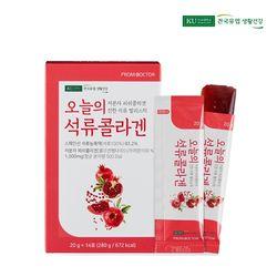 건국유업 오늘의 석류 콜라겐 젤리 스틱 1박스 (14포)