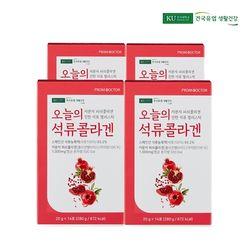건국유업 오늘의 석류 콜라겐 젤리 스틱 4박스 (56포)