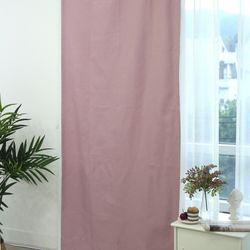 100암막도어가리개커튼 핑크 90X210