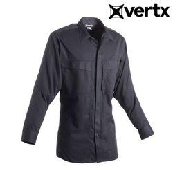 [버텍스] 맨즈 OA 듀티 웨어 긴팔 셔츠 (블랙)