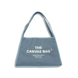 The Canvas Bag Ash Blue S