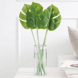 몬스테라 나뭇잎 조화 1p