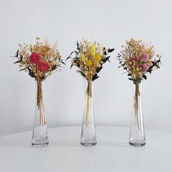 드라이플라워 미니 꽃다발 안개꽃 라그라스
