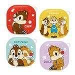 JH 디즈니 칩앤데일 갤럭시 버즈 라이브 케이스+키링 하드 커버
