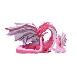 핑크 드래곤 동물피규어 2종세트(1013910142)