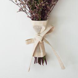 블랭크 광목 플라워 커버 . 꽃포장지 (RM 299001)
