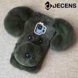 데켄스 갤럭시S8 강아지 퍼 케이스 M398