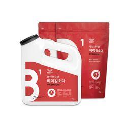 베이킹소다 왕톡톡이 리필세트 (1kgx2)