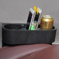 키밍 멀티 차량용 3구 컵홀더 틈새 핸드폰 병 다용도