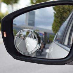키밍 부착식 자동차 사이드 사각지대 보조미러 거울