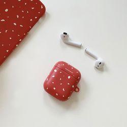 terazzo pattern 디자인 에어팟 하드케이스