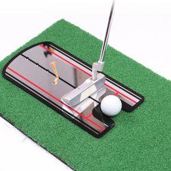 미러 골프퍼터연습기 퍼팅가이드