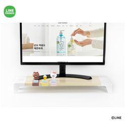 라인프렌즈 미니 모니터 받침대 피규어클립 1개동봉