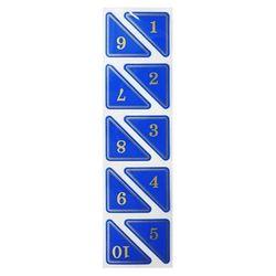 삼각번호판(5000)청색11-20