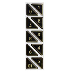 삼각번호판(5000)흑색11-20