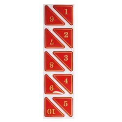 삼각번호판(5000)적색11-20