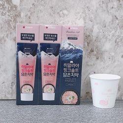 히말라야 핑크솔트 담은치약 플로랄 민트 3개입