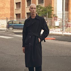 20FW ORIGINAL TRENCH COAT BLACK