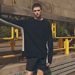 20FW TWO-TONE SWEATSHIRT BLACK