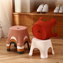 모던 심플 욕실의자 1개(랜덤)