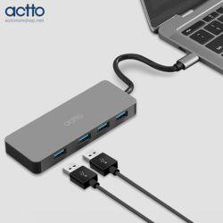 엑토 맥시멈 4포트 타입C USB3.0허브 HUB-37