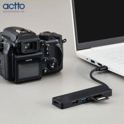 엑토 5in1 유니버셜 타입C 멀티 허브 CRH-17 HDMI+USB
