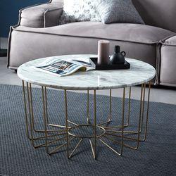 천연대리석 벨라 원형 거실 쇼파 테이블