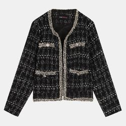 안느 트위드 재킷 TRJQ20N43