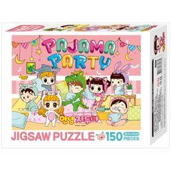 [아이누리] 안녕 자두야 직소퍼즐 150PCS: 파자마 파티