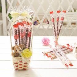 로맨틱바구니 롱빼 막대과자 데이 초콜릿 간식 선물
