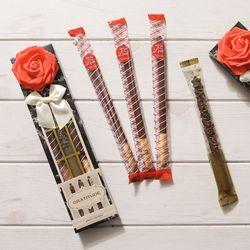 로맨틱(소) 롱빼 막대과자 데이 초콜릿 간식 수능선물