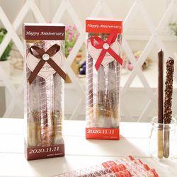 초콜릿팩토리 롱빼 막대과자 데이 초콜릿 간식 선물